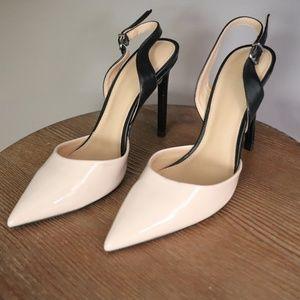 Express slingback heels